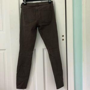Bullhead Jeans - BULLHEAD GRAY LOW RISE SKINNY JEANS